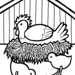 √ Free Printable Farm Animal Coloring Pages For Kids   Free Printable Farm Animal Pictures