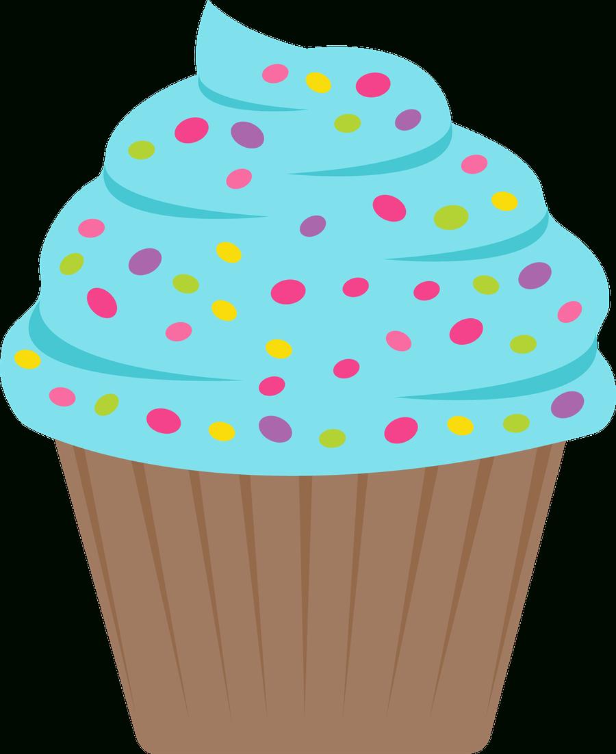 ○••°‿✿⁀Cupcakes‿✿⁀°••○ | Cumple 30 Aniversario Cole - Free Printable Cupcake Clipart