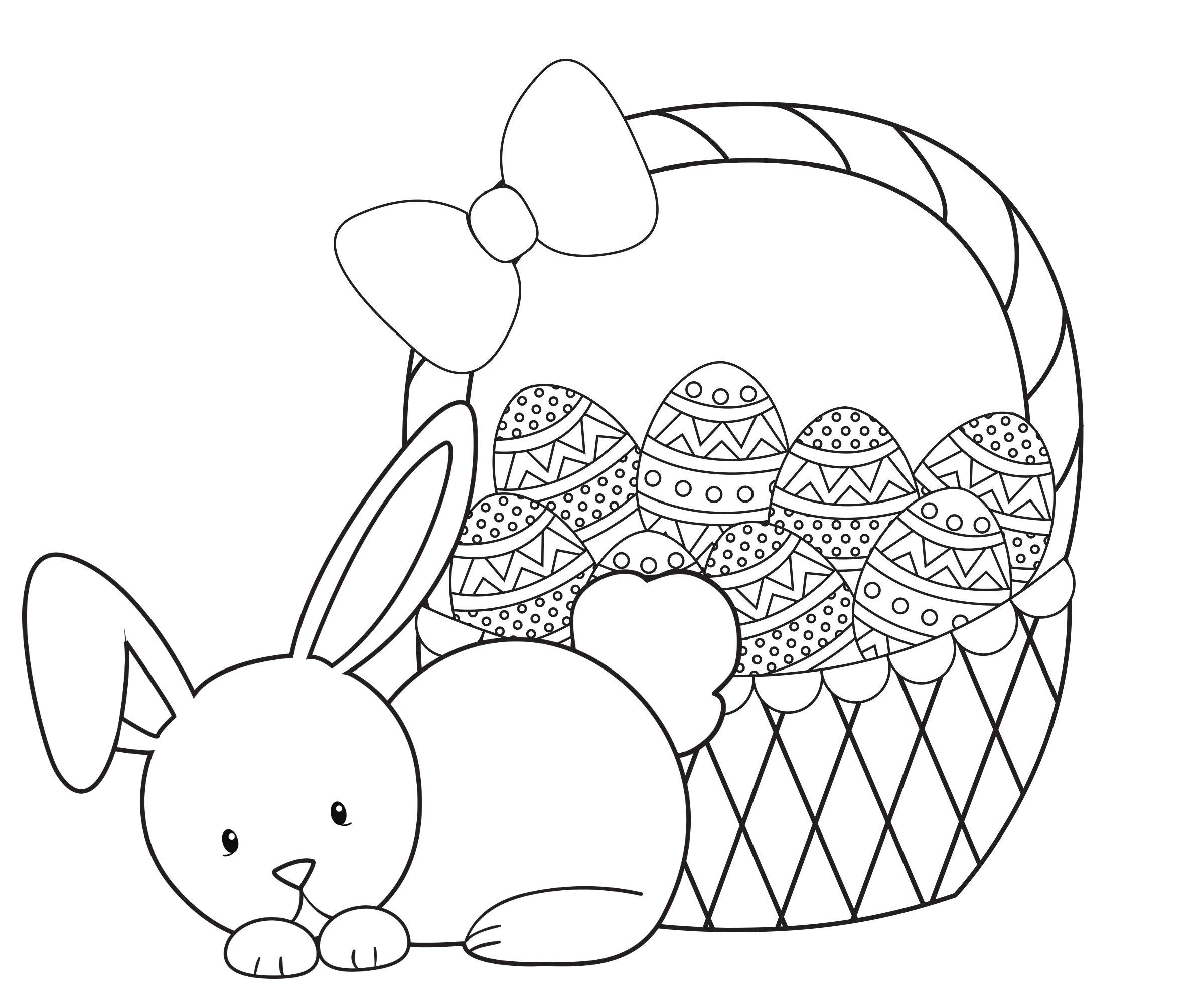 Easter Coloring Pages For Kids - Crazy Little Projects - Free Printable Easter Coloring Pages For Toddlers