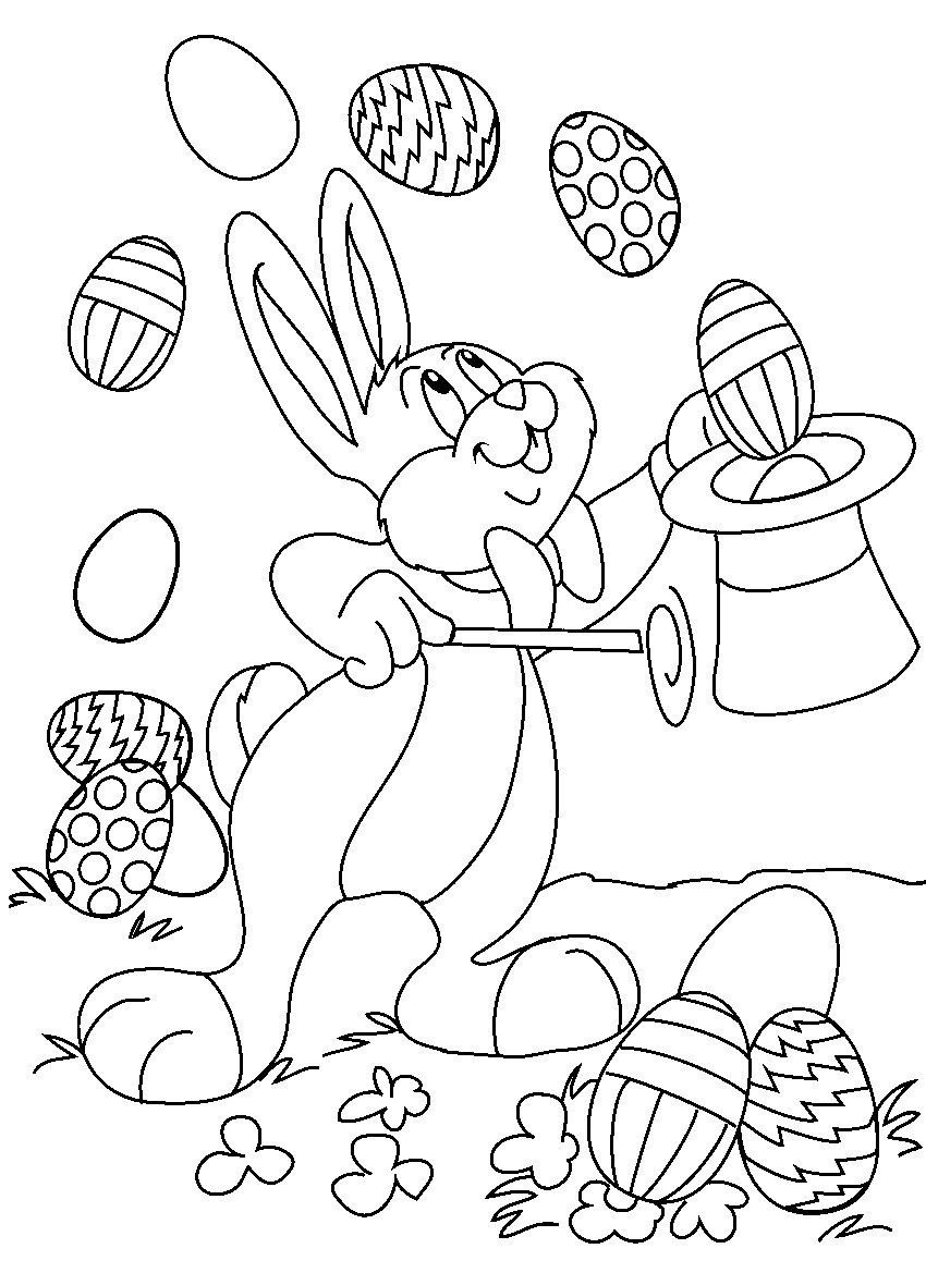 Easter Coloring Pages Printable Printable Easter Coloring Pages Free - Coloring Pages Free Printable Easter