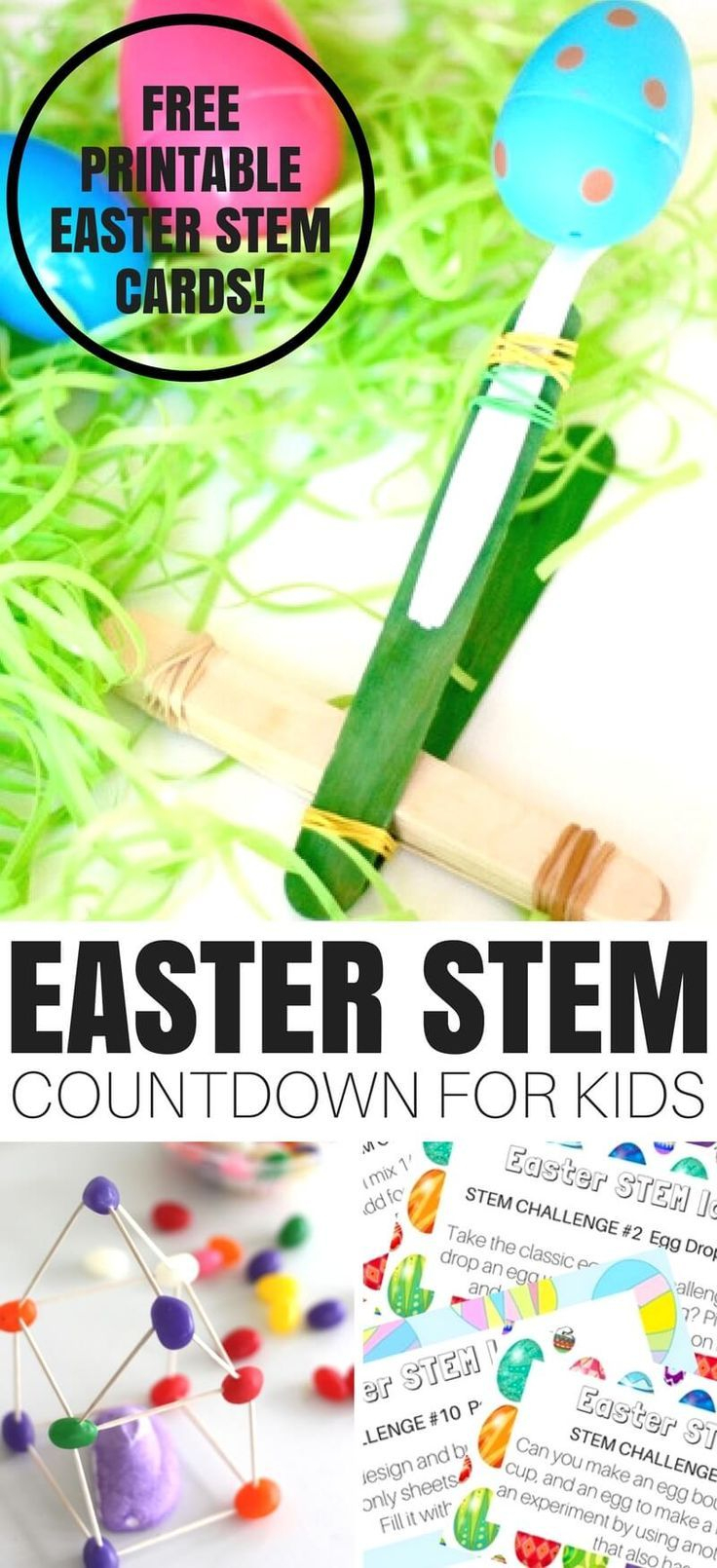 Easter Stem Activities And Experiments Countdown (Free Printable - Free Printable Stem Activities