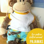 Easy + Free Sewing Pattern For Teddy Bear Pajamas   It's Always Autumn   Free Printable Teddy Bear Clothes Patterns