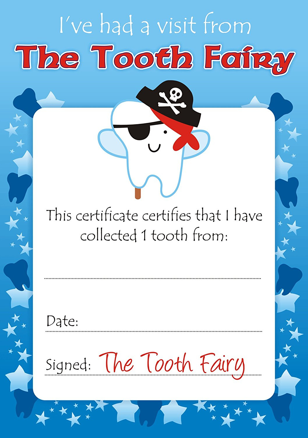 Easy Tooth Fairy Ideas & Tips For Parents / Free Printables - Free Printable Tooth Fairy Certificate