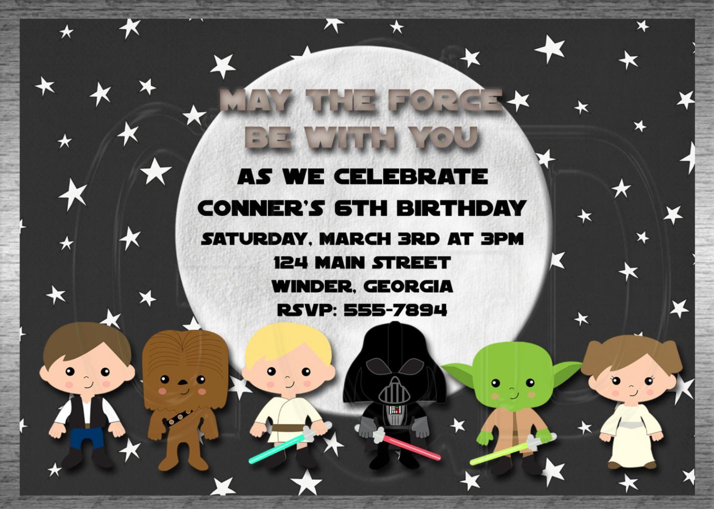Elegantcustomize 1000 Free Printable Star Wars Baby Shower Invites - Free Printable Star Wars Baby Shower Invites