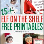 Elf On The Shelf Printables & Ideas   Over The Big Moon   Elf On The Shelf Free Printable Ideas