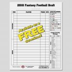 Eliminate Your Fears And Doubts | Label Design Inspiration   Free Fantasy Football Draft Kit Printable