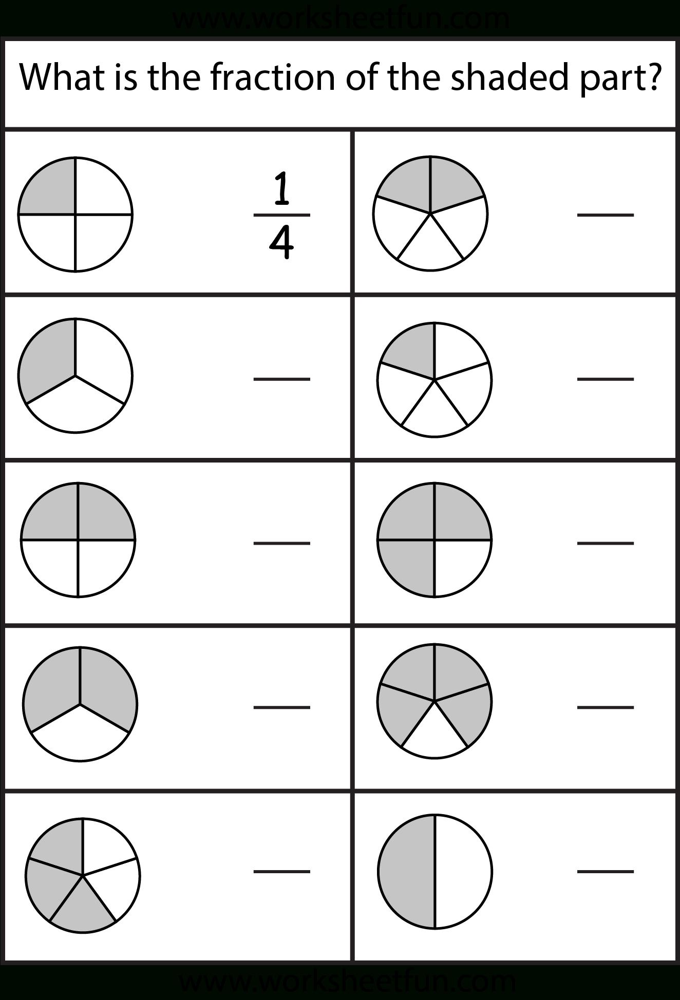Equivalent Fractions Worksheet / Free Printable Worksheets - Free Printable Fraction Worksheets