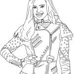 Evie From Disney's #descendants | Free Printables | Coloring Pages   Free Printable Descendants Coloring Pages