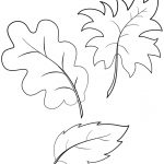 Fall Autumn Leaves Coloring Page | Free Printable Coloring Pages   Free Printable Fall Leaves Coloring Pages