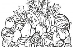 Fall Harvest Coloring Page | Free Printable Coloring Pages – Free Printable Fall Harvest Coloring Pages