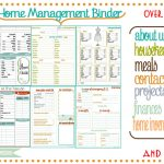 Family Home Binder   6.9.kaartenstemp.nl •   Free Printable Home Organizer Notebook