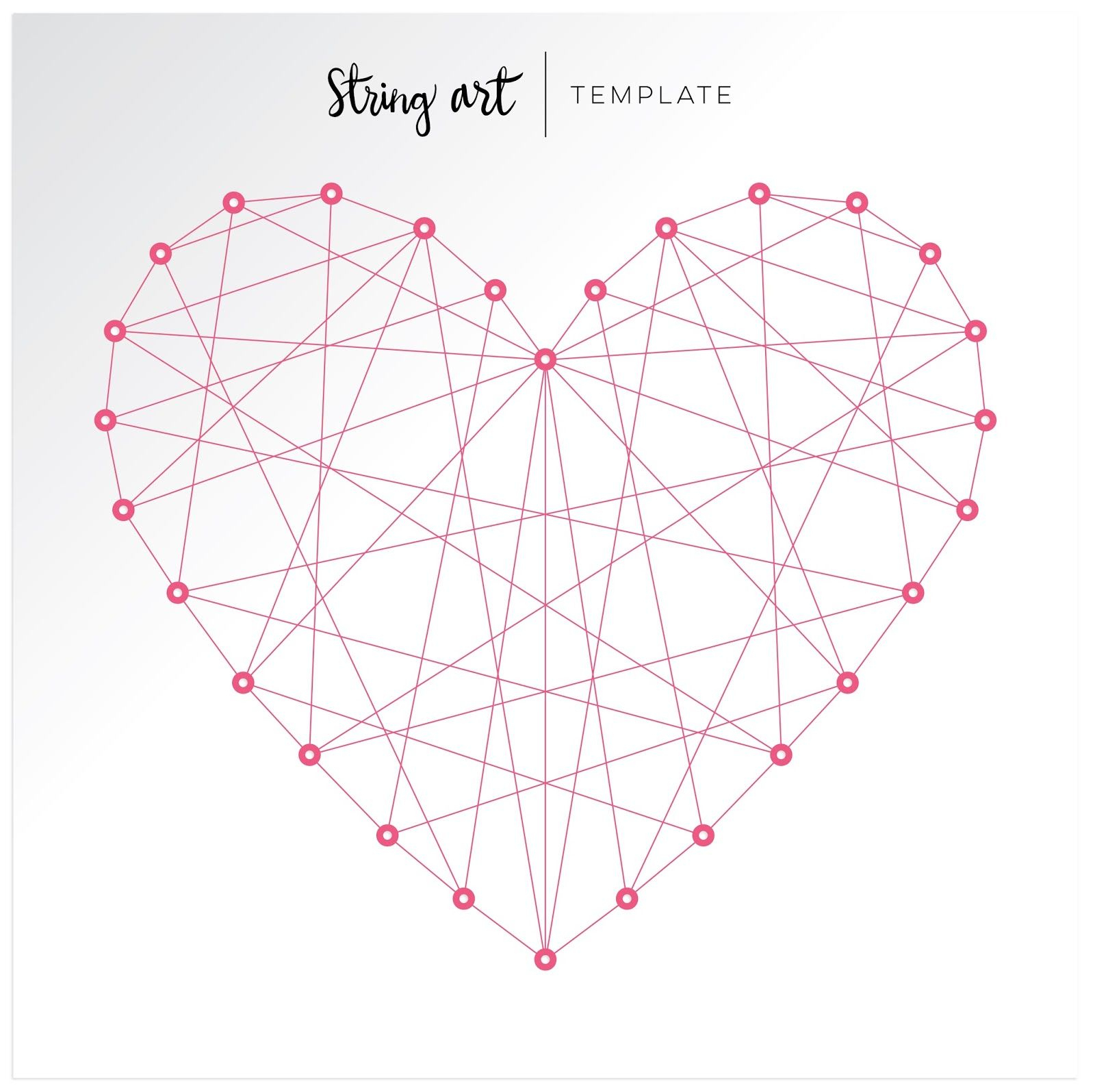 Fancy Freepaige Evans | Flipbook | Pinterest | String Art - Free Printable String Art Patterns With Instructions