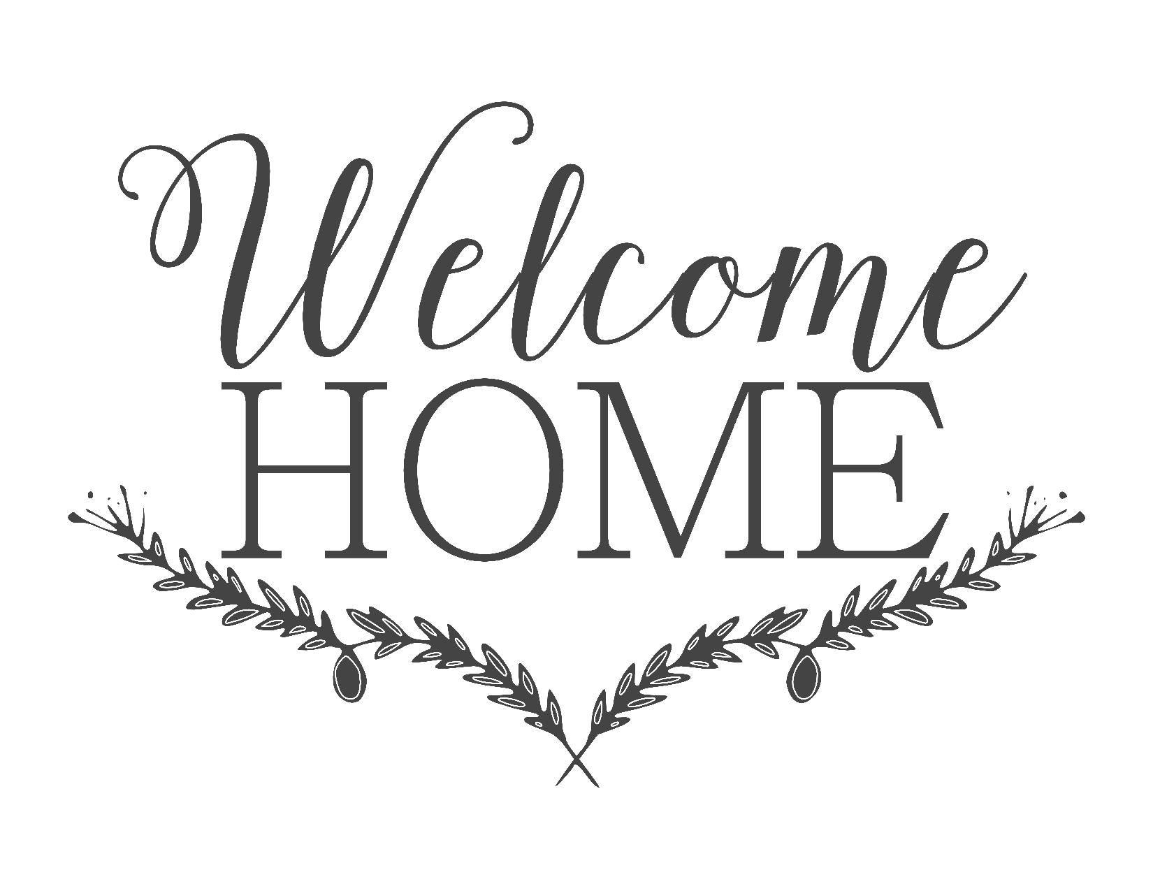Farmhouse Free Printable Set-Gather-Choose Joy-Welcome Home | ~For - Welcome Home Cards Free Printable