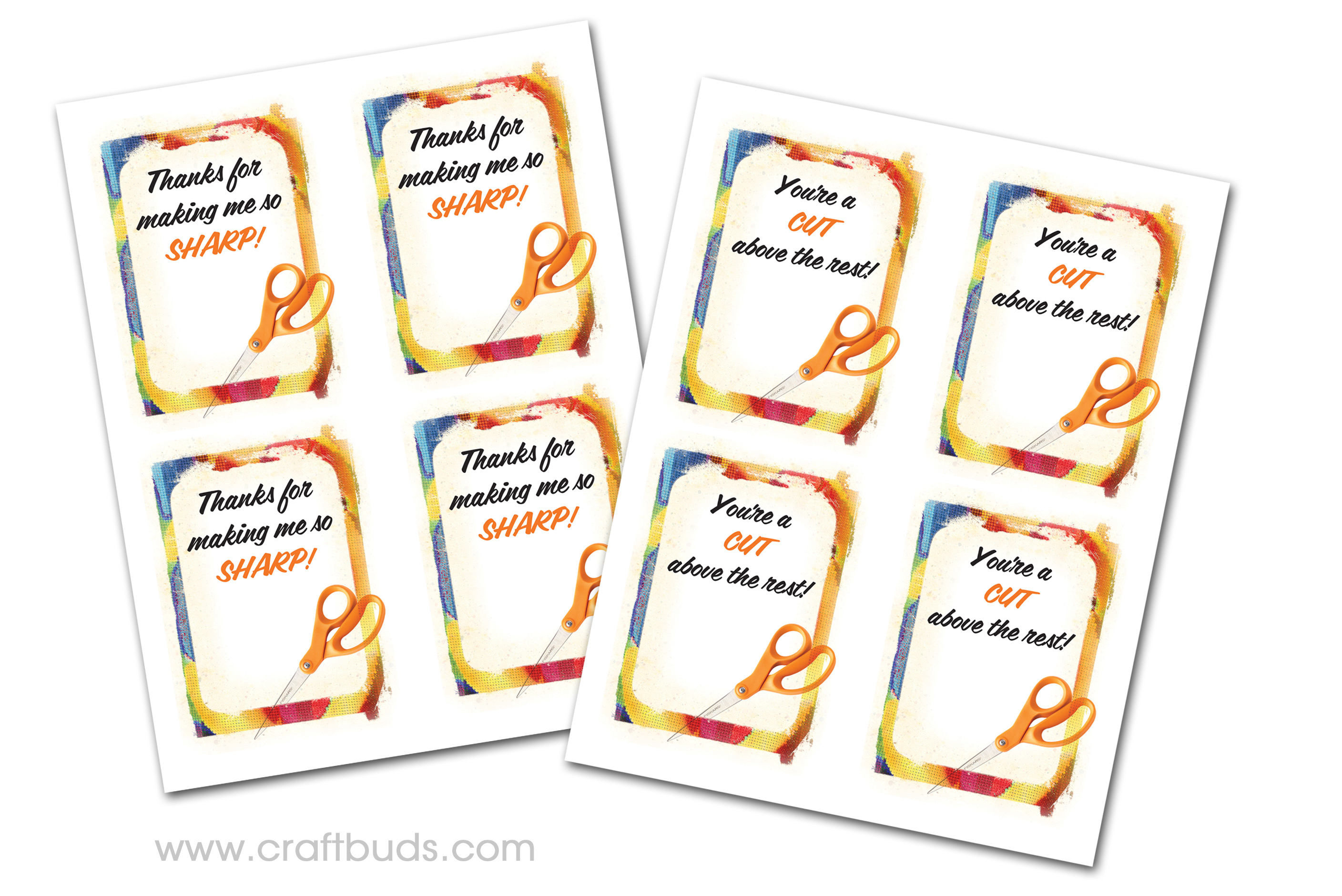 Fast Teacher Appreciation Gift! (+ Free Printable) | Craft Buds - Free Printable Tags For Teacher Appreciation