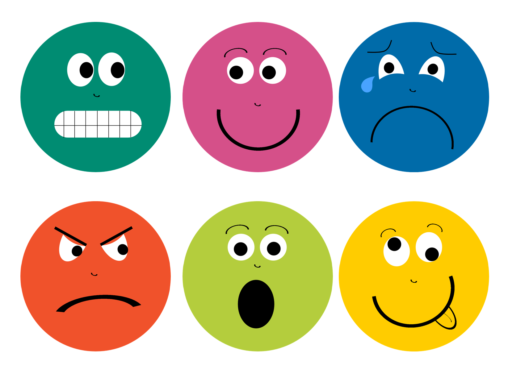 Feelings Faces Printable | Library | Pinterest | Feelings, Emotion - Free Printable Sad Faces