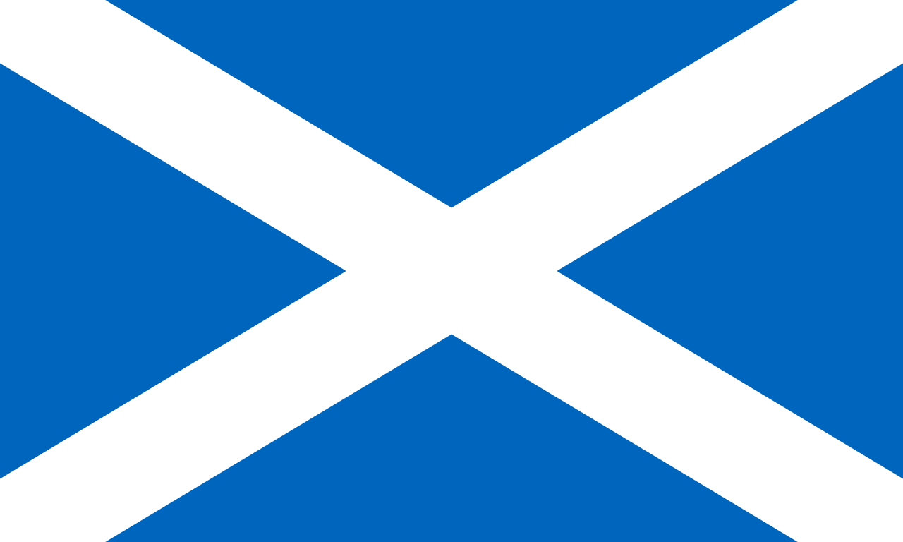 File:flag Of Scotland.svg - Wikipedia - Free Printable Scottish Flag