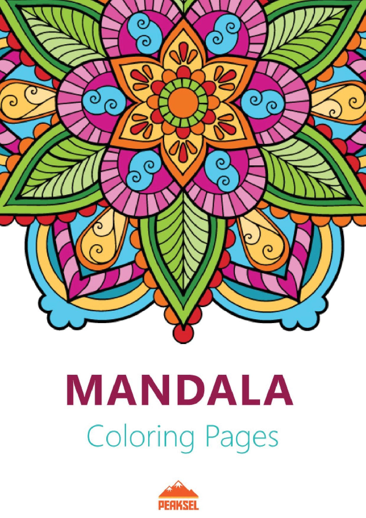 File:mandala Coloring Pages For Adults - Printable Coloring Book.pdf - Free Printable Mandalas Pdf