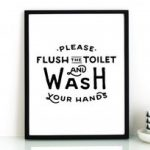 Flush The Toilet Quotes And Sayings Free Printable   Decor With Free   Free Printable Flush The Toilet Signs