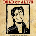 Flynn Rider Wanted Poster Decoration Forpartyprintsplus, $1.00   Free Printable Flynn Rider Wanted Poster