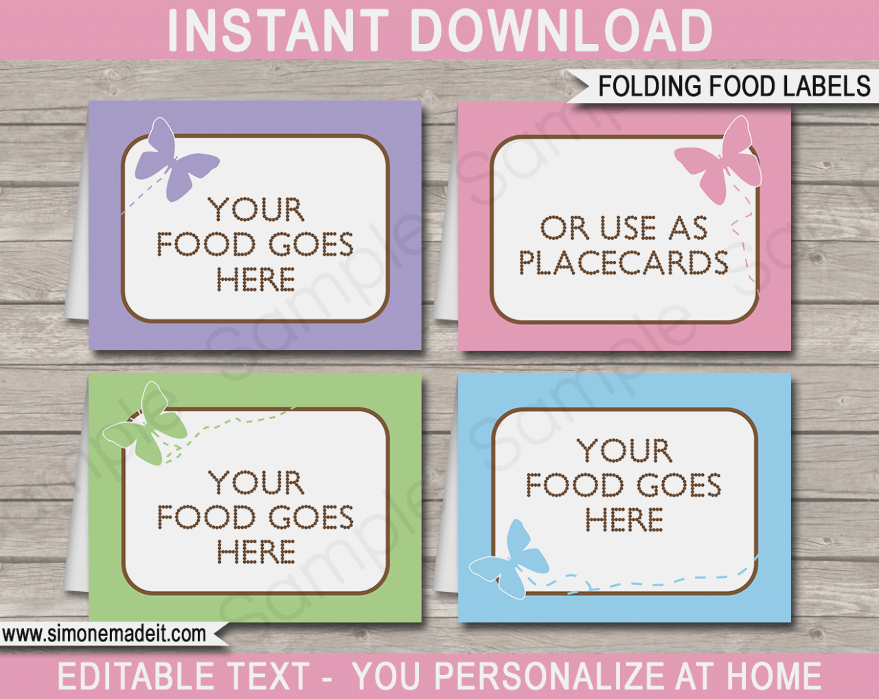 Food Cards For Buffet Template – Keni.candlecomfortzone – Label - Free Printable Buffet Food Labels