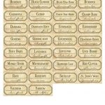For Strange Women: Diy Spice Jar Labels   A Free Download To   Free Printable Herb Labels