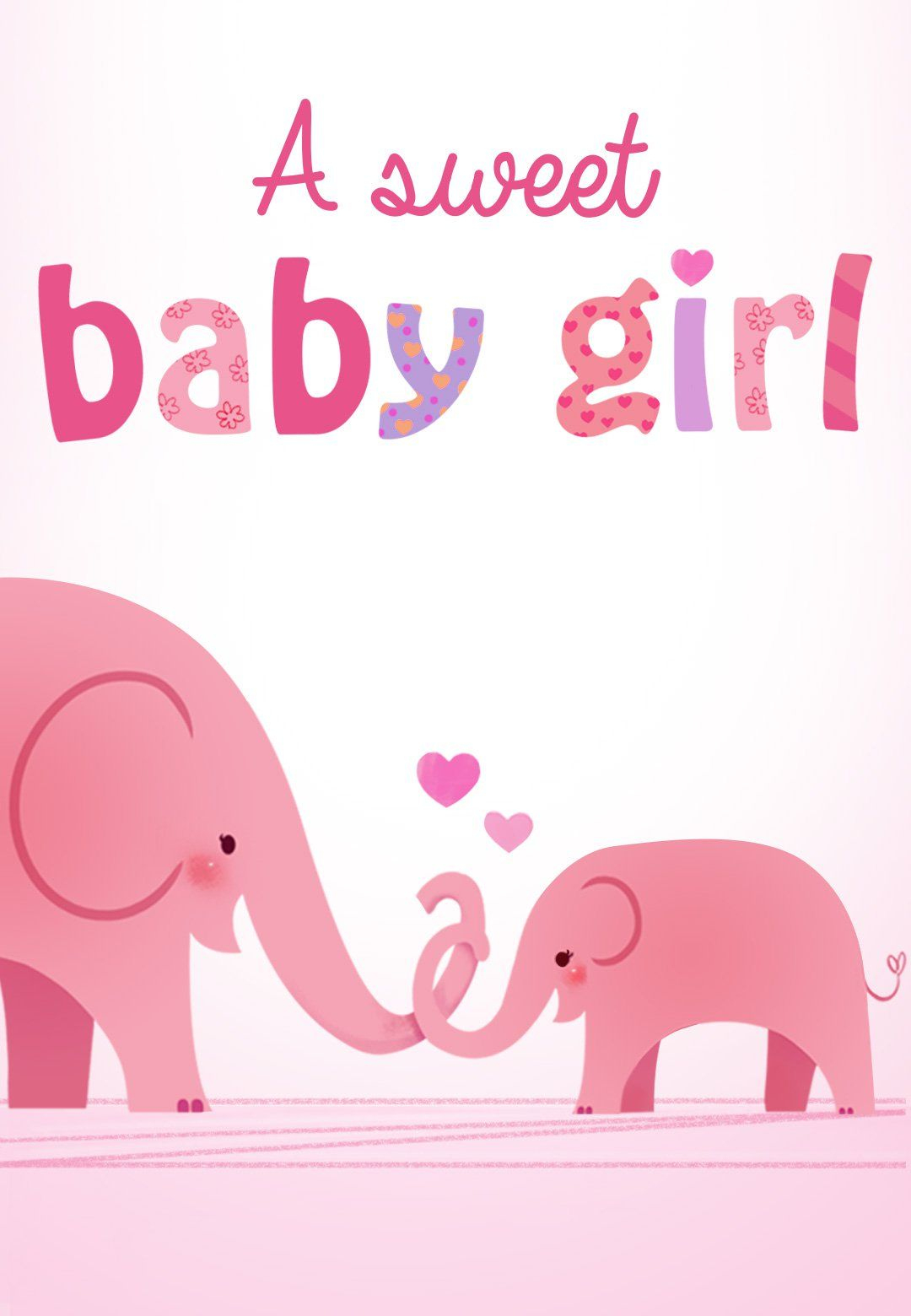 Forever In Your Heart - Free Printable New Baby Card | Greetings - Congratulations On Your Baby Girl Free Printable Cards