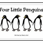 Four Little Penguins Free Printable Big Book | School   Penguins In   Free Printable Penguin Books