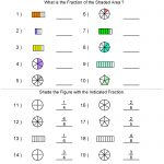 Fractions Worksheets | Printable Fractions Worksheets For Teachers   Year 6 Maths Worksheets Free Printable