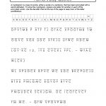 Free And Printable Father's Day Cryptogram. Quotes About Dad   Free Printable Cryptoquip Puzzles