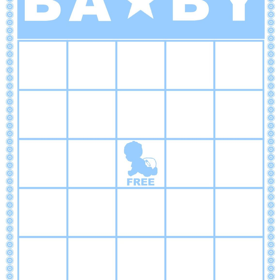 Free Baby Shower Bingo Cards Your Guests Will Love - Baby Bingo Free Printable