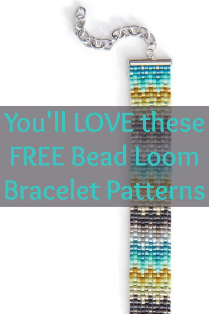 Free Beading Patterns You Have To Try | Beaded Bracelet Making - Free Printable Loom Bracelet Patterns