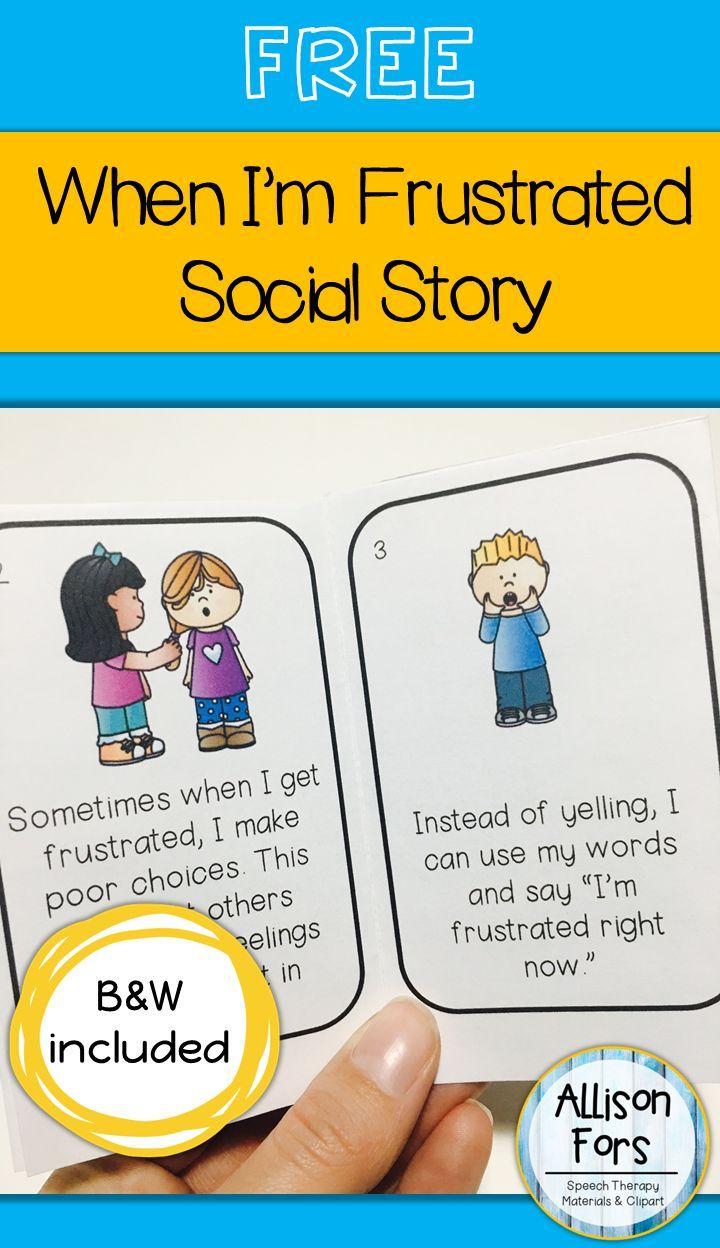 Free Behavior Social Story | Language Games Galore | Pinterest - Free Printable Social Stories Making Friends