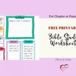 Free Bible Journal Key Worksheet – Bible Journal Love   Free Printable Bible Study Lessons Genesis