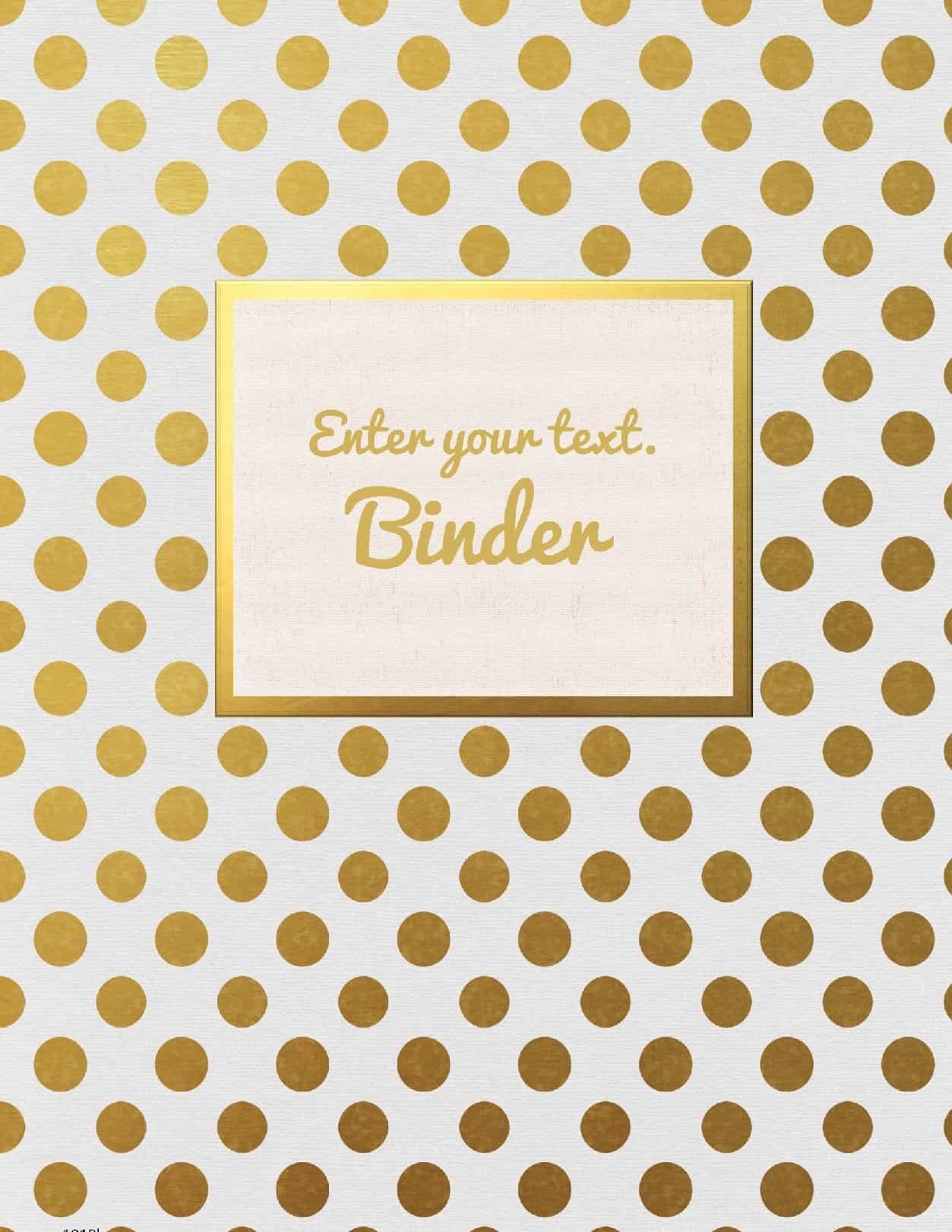 Free Binder Cover Templates | Customize Online & Print At Home | Free! - Free Printable Binder Covers And Spines