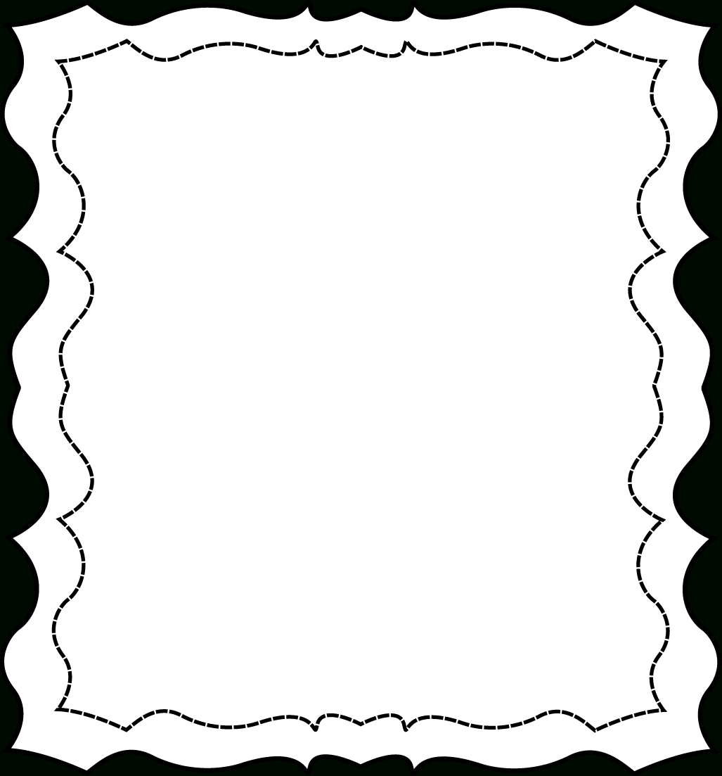 Free Black And White Page Borders, Download Free Clip Art, Free Clip - Free Printable Page Borders