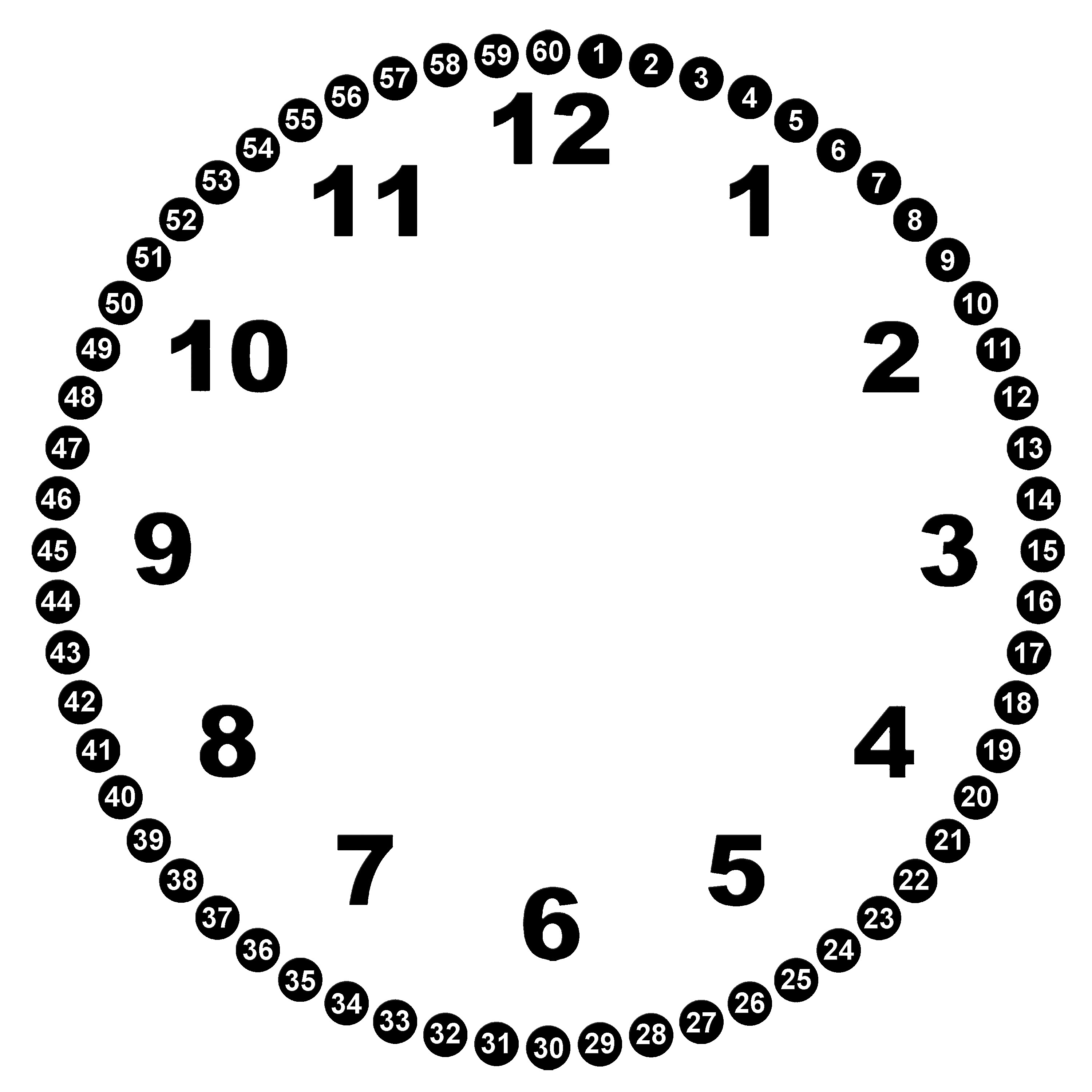 Free Blank Clock Face Printable, Download Free Clip Art, Free Clip - Free Printable Clock Faces