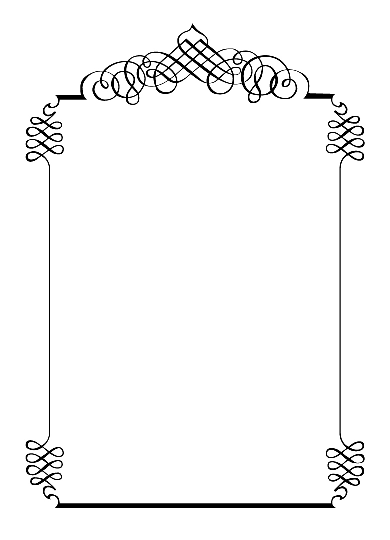Free Border Frame Clipart Collection - Free Printable Clip Art Borders