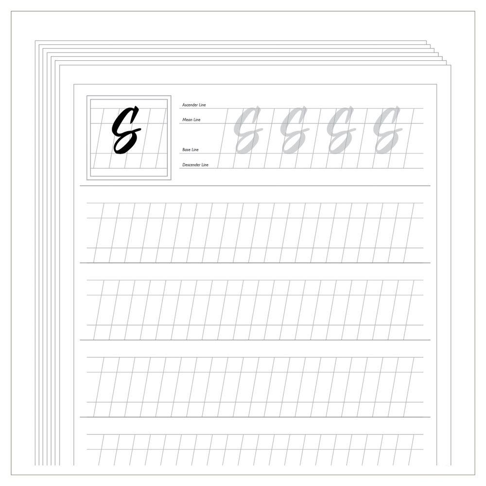 Free Calligraphy Worksheets Printable - Google Zoeken   Projects To - Free Printable Calligraphy Worksheets