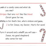 Free Candy Cane Poem For You | Wee Can Know   Free Printable Candy Cane Poem