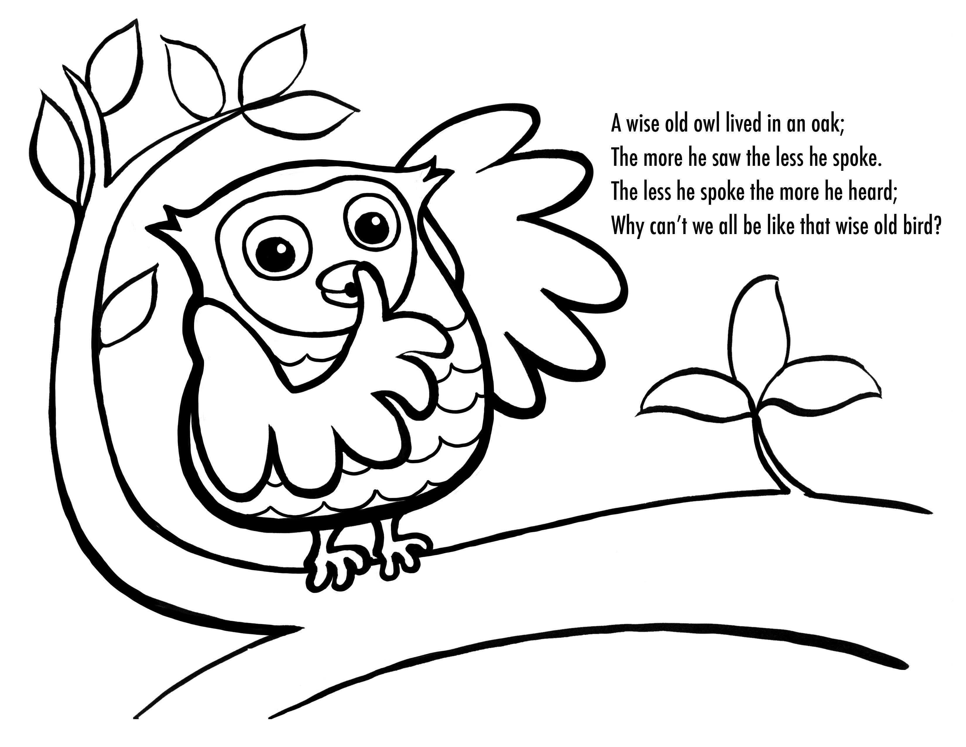 Free Cartoon Owl Coloring Pages, Download Free Clip Art, Free Clip - Free Printable Owl Coloring Sheets