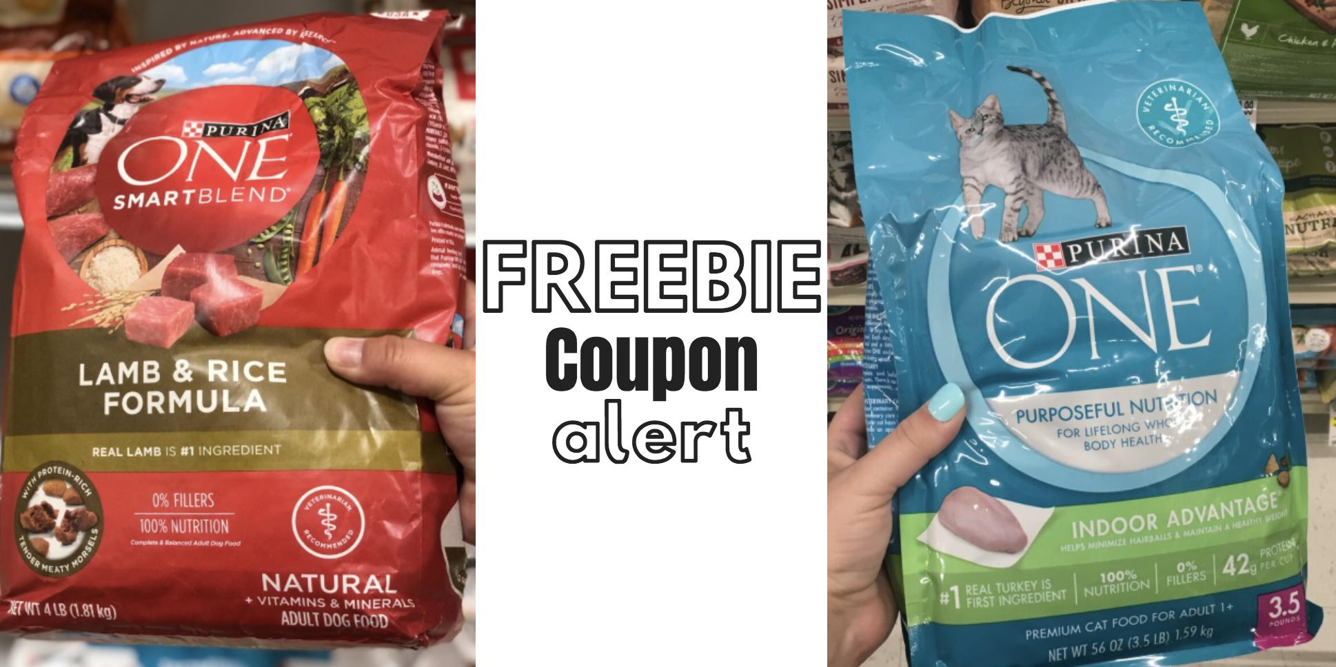 Free Cat Or Dog Food Coupon: Purina One - Moola Saving Mom - Free Printable Coupons For Purina One Dog Food