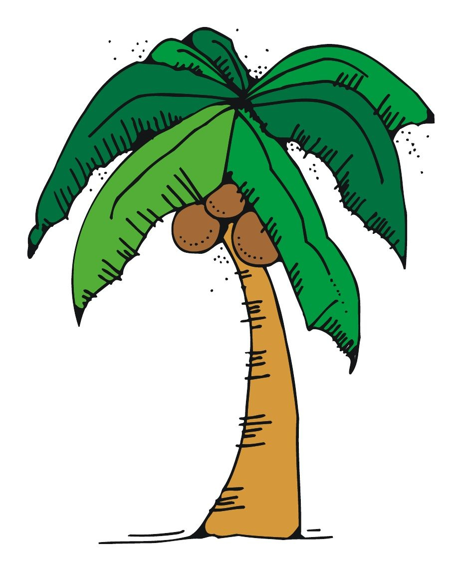 Free Chicka Chicka Boom Boom Tree Template With Letters | Letter - Free Printable Palm Tree Template