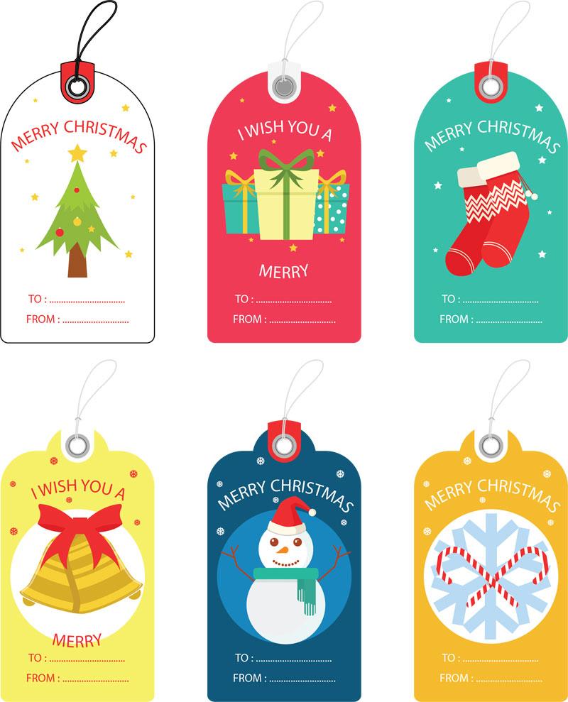 Free Christmas Gift Tag Templates - Editable & Printable - Free Printable Editable Christmas Gift Tags
