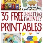 Free Christmas Nativity Printables And Coloring Pages   Free Printable Christmas Story Coloring Pages