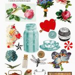 Free Collage Sheets | Free Digital Collage Sheet | Printables   Free Printable Digital Collage Sheets