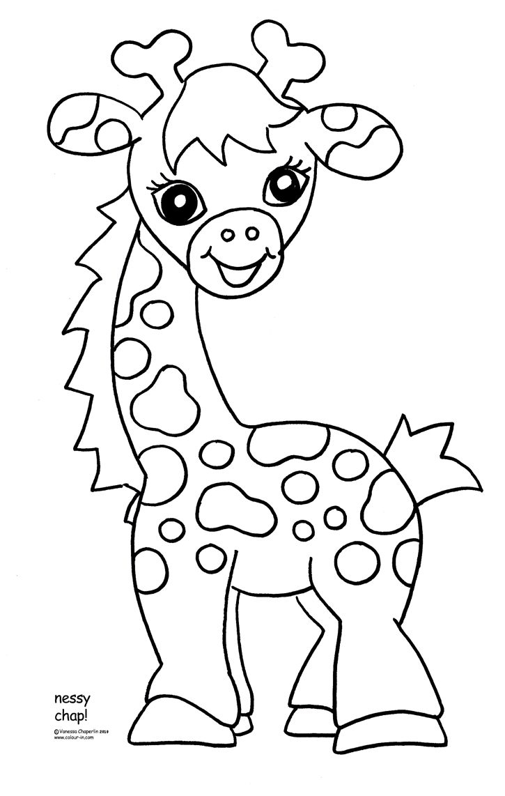 Free Coloring Pages For Kids Zoo Animals - Google Search | Crafts - Free Printable Pictures Of Baby Animals