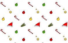 Free Digital Kawaii Christmas Scrapbooking Paper – Ausdruckbares – Free Printable Christmas Paper