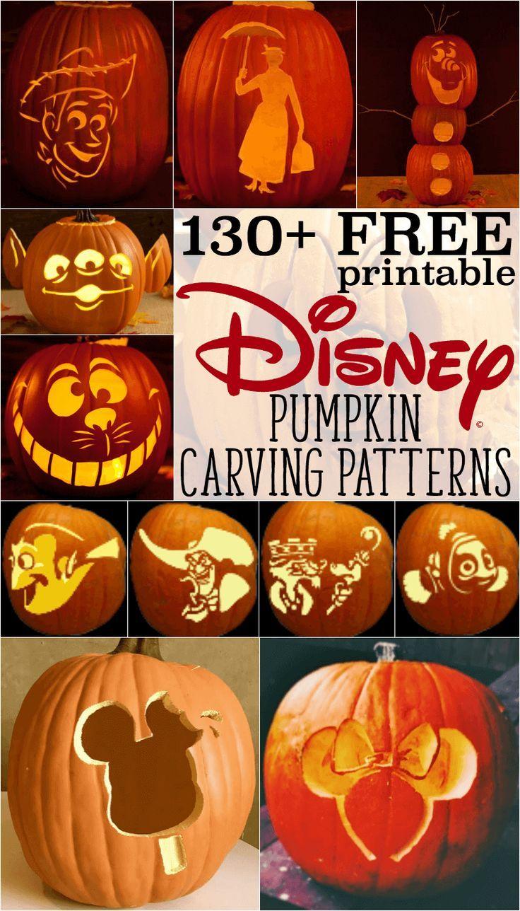 Free Disney Pumpkin Stencils: Over 130 Printable Pumpkin Carving - Halloween Pumpkin Carving Stencils Free Printable