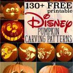 Free Disney Pumpkin Stencils: Over 130 Printable Pumpkin Carving   Jack O Lantern Patterns Free Printable
