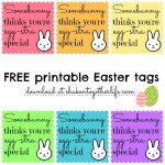 Free Easter Gift Tags Printables – Hd Easter Images   Free Printable Easter Tags